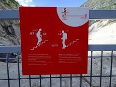 Mer de Glace. Steps to the Grotte de Glace. Montenvers. (elsa11) Tags: merdeglace grottedeglace montenvers icecave chamonix hautesavoie glacier gletscher gletsjer france frankrijk mountains alpen alps rhonealps auvergnerhonealpes