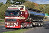 Wm Nicol Tankers Volvo FH GL12PFO on the A90, Dundee, 30/9/17 (andyflyer) Tags: wmnicoltankers volvofh gl12pfo lorry truck hgv transport roadtransport haulage