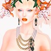 Chop Zuey : Angeline Gold Set @68Main Event (Ombrebleue Winsmore) Tags: chopzuey angeline jewels collar necklace gold beads fashion elegance