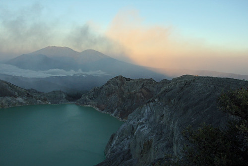 Crater Lake of Mount Ijen