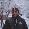 Snow boogie (Vincent F Tsai) Tags: portrait snow street male model winter cold snowing white black fashion jacket hat smile dude square bokeh dof minolta minoltamd50mmf14 metabones speedbooster manual panasonic lumixgx8
