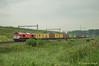 Crossrail DE6308 Steenlandlaan (TreinFoto België) Tags: class 66 gm66 de6308 crossrail xrail emd beacon rail 266 1031 92 80 1266 dxrail kallo waaslandhaven neuss msc krommenhoek steenlandlaan lijn 10 41567 z41567