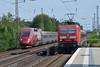 143 823, Düsseldorf-Garath (Howard_Pulling) Tags: german rail railway bahnhof bahn deutschland howardpulling