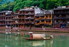 Fenghuang, China (pt. 3) (marinachi) Tags: fenghuang china candid city ancientcity river cof075 cof075red cof075mark cof075ettigirbs cf075dmnq
