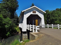 Scio, Oregon (Jasperdo) Tags: scio oregon roadtrip hoffmancoveredbridge coveredbridge bridge road highway