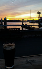 Redondo Beach Sunset (uhhey) Tags: beer redondobeach california ocean sunset