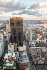 Tour B - 2017 - Rooftopping (FelixShots_2015-2017) Tags: building edifice centreville downtown montreal mtl urbex urbanexploration urban urbanexplorer rooftop roof rooftopper rooftopping sunset city cityscape cityview