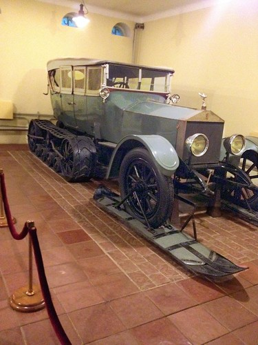 Lenin's Rolls Royce tracked suv