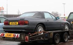 H711 FRK (Nivek.Old.Gold) Tags: 1990 mazda rx7 turbo ii convertible hughes beaconsfield