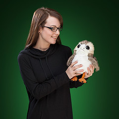 Last Jedy Porg Plush Toy (mywowstuff) Tags: gifts gadgets cool family friends funny shopping men women kids home