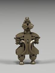 Shakōki-dogū (vir-a-cocha) Tags: dogu ancient artifact japan clay figure astronaut paleocontact alien iwanttobelieve