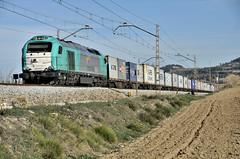 TRANSITIA RAIL (Andreu Anguera) Tags: ferrocarril tren mercancias transitiarail 335007 máquina lavern subirats altpenedès catalunya andreuanguera