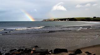 Ballycastle beach, Co. Antrim looking towards Fair Head