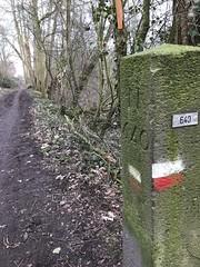 20180220 Nederlands-Duitse grens bij Beek (Pieterpad) (janhommes) Tags: border grens pieterpad