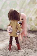 """What you have there?"" (·Yuffie Kisaragi·) Tags: doll dolls pullip xiao fan custom rakerusensei pingrey taeyang prince ramiro kenjiro obitsu rewigged rechipped"