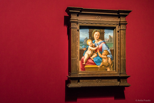 Raffael: Madonna Aldobrandini, c 1511