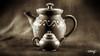 Teapots #7 (dougkuony) Tags: hdr teapot teapots mono monochrome bw blackandwhite sepia redware kungfu
