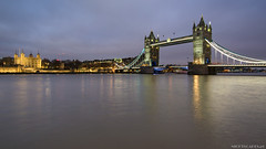 Tower (Piotr Potepa) Tags: londyn thames river uk night nightscape nightscapes piotrpotepa tower bridge