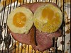 WOL of gammon gets egg on its face (Yersinia) Tags: gammon egg chip wol owl wolofgammon yersinia ham