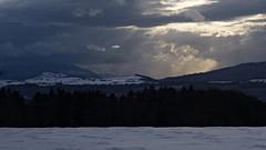 Snow Coming (Daphne-8) Tags: sky himmel dark light sun sonne licht dunkel schnee snow neve nieve neige sneeuw donker cielo hemel lucht weather wetter alps alpi alpes alpen view hörnli vista landscape landschaft landschap paesaggio paisaje paysage mountains berge montañas montagnes switzerland suisse svizzera zwitserland schweiz svizra suiza suiça