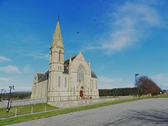 Rosskeen Free Church, Easter Ross, March 2017 (allanmaciver) Tags: rosskeen free church easter ross spire impressive alness scotland allanmaciver
