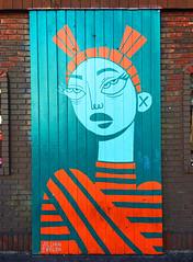 Fox Incognito by Jillian Evelyn (wiredforlego) Tags: graffiti mural streetart publicart chicago illinois ord jillianevelyn