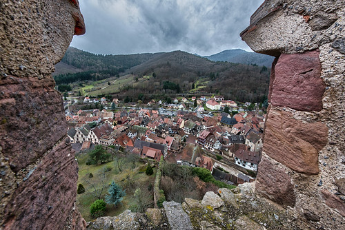 Kaysersberg from Schlossberg
