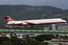 "McDonnell Douglas, MD-83, B-28011, ""Far Eastern Air Transport"", RCSS, Taipei, Taiwan (Daryl Chapman Photography) Tags: b28011 md80 fat fareasternairtransport taiwan taipei songshan runway10 landing arrival plane planespotting planephotography 53118 fea 1954 fe panning"