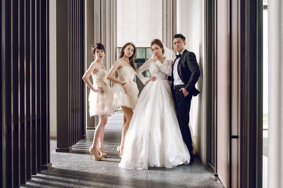 婚攝 高雄林皇宮 婚宴 時尚氣質新娘現身 S & R 100