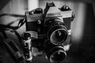 La photographie argentique...