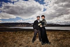 Helga & Vignir (LalliSig) Tags: wedding brúðkaup photographer iceland hvalfjörður portrait portraiture people