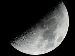 Moon (triciastacey) Tags: luna lunar moon taurus january quarter first space night sky nikonp900 nikon p900 illumination creators