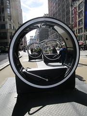 The LOOP Portable Zoetropes on Broadway NYC 7694 (Brechtbug) Tags: loop flip book style zoetropes broadway nyc optical animation with sound that you operate by moving roll bar back forth like gym equipment animations film motion picture movie illusion giant wheel wheels futuristic past nickelodeon art sculpture interactive outdoors loops hand operated drawn drawings play ground portable big zoetrope pop up