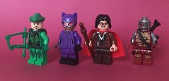 DC Figs #53 (KoyoteKB) Tags: lego green arrow catwoman sewerking deadshot dc figures 53 series new super heroes superheroes comics