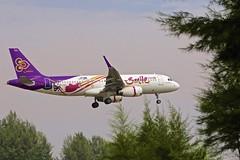 HKT/VTSP: ThaiSmile Airbus A320-232 HS-TXQ (Roland C.) Tags: airport phuiket phuketinternationalairport hkt vtsp aircraft airliner airplane airbus thai thaiair thaismile bankokair