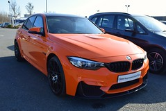 2017 BMW M3 Competition Pack (>Tiarnán 21<) Tags: 2017 bmw m3 competition pack orange fire