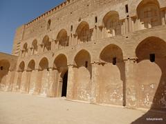 Ukhaidir Fortress (4).jpg (tobeytravels) Tags: iraq alukhaidir abbasid umayyad palace isaibnmusa gertrudebell unesco pishtaq bayts