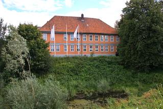 Bleckede, Elbschloss (Barockflügel)