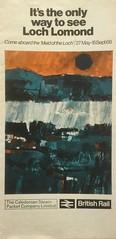 "1968 brochure for ps ""Maid of the Loch"" on Loch Lomond. (calderwoodroy) Tags: ephemera shipping balmaha rowardennan tarbetlochlomond inversnaid maidoftheloch sailinglist timetable brochure pleasuresailings excursionsteamer paddlesteamer balloch lochlomond scotland"