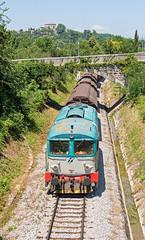 Italian diesel | D345.1003 | Mercitalia Rail | Nova Gorica (SLO) (lofofor) Tags: diesel italy d345 1003 slo slovenia slovinsko taliansko ita mercitalia gorizia italia balkan freight international border crossborder