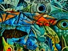 Fisheye (DreamExpose) Tags: photosynthesis ai convolutionnetwork deeplearning synth synthesised styled color shape concept abstract colorful line composition imagination newreal fakephoto