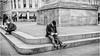 Newcastle Upon Tyne . (wayman2011) Tags: f2 fujifilmxf23mm lightroomfujifilmxpro1 wayman2011 bw mono urban people street candid city town tynewear tyneside newcastle uk