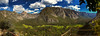Yosemite Valley iPhone Panorama (HarrySchue) Tags: yosemite iphone nationalparks mountains valley river hiking trees clouds