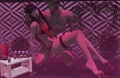POST ★☆ 1K160★☆ (♕ Xaveco Mania - Jhess Yoshida ♕) Tags: ricielli ncore kinkyevent limerence secondlifephotography secondlifeblog secondlife sexy ks redfish 220ml couple