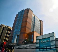 Bank Artha Graha Matraman (Ya, saya inBaliTimur (leaving)) Tags: jakarta building gedung architecture arsitektur office kantor bank