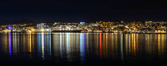Tromsø city center panorama (TerjeLM) Tags: nattfotografering nightphotography tromsø tromsøsentrum vinter winter