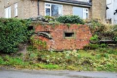 Garden Feature Pillbox (stavioni) Tags: ewshot pillbox variant house garden wwii defence brick feature