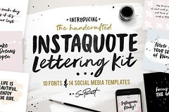 designeour: Instaquote Lettering Kit by Sam Parrett >> Go to http://bit.ly/2GDybrI http://bit.ly/2E8SK1O http://bit.ly/2nNqUxa http://bit.ly/2E6u4qN (designeour) Tags: design photography photo gear