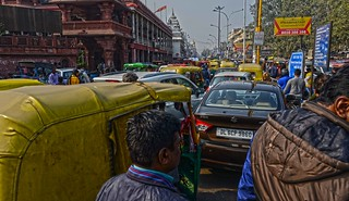Old Delhi Traffic DSC_6772