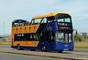 SJ16 ZZK Lothian Buses 245 Volvo B5TL with Wright Gemini 3 body at Ocean Terminal Leith July17 (Copy) (focus- transport) Tags: lothian buses edinburgh tourists open toppers 2017 volvo b5tl wright wrightbus gemini 3 dennis trident plaxton president